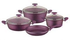 Papilla Purple Cooking Set