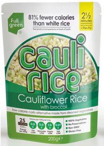 Full Green Cauliflower Rice With Broccoli