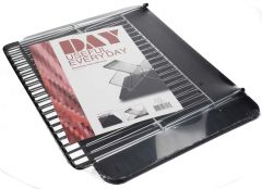 Day  Useful Everyday Dish Washer Draining Rack With Tray