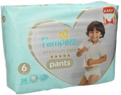 Pampers Premium Care Pants Diapers Size 6 Extra Large 16kg Plus