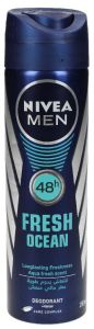 Nivea Fresh Ocean Deodorant Spray For Men
