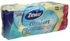 Zewa 3 Ply Comfort Yellow Tissue Roll