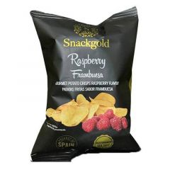 Snackgold Gourmet Raspberry Potato Chips