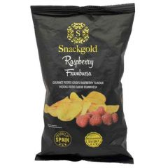 Snackgold Raspberry Gourmet Potato Chips