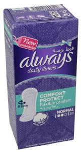 Always Normal Comfort Protect Daily Liner