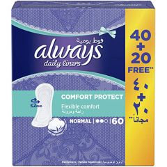 Always Comfort Protect Daily Liners