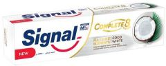 Signal Complete 8 Herbal Coco White Toothpaste