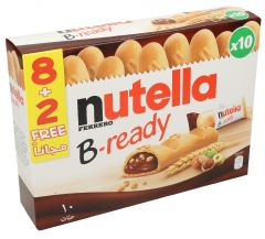 Nutella Verrero B Ready Filled Chocolate Biscuit