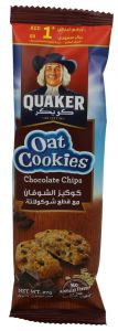 Quaker Chocolate Chips Oat Cookies