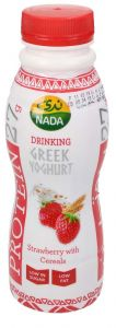 Nada Strawberry With Cereal Protein Greek Yoghurt