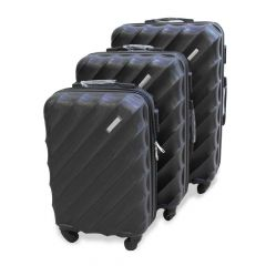 Travel Plus Blades Hard Case Black Trolley