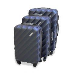 Travel Plus Blades Hard Case Blue Trolley