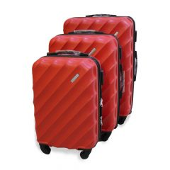 Travel Plus Blades Hard Case Red Trolley