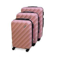 Travel Plus Blades Hard Case Pink Trolley