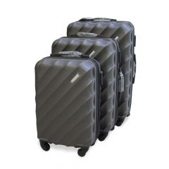 Travel Plus Blades Hard Case Grey Trolley