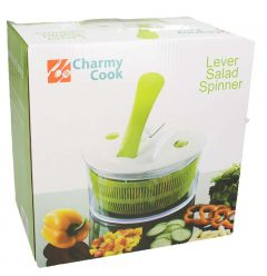 Charmy Cook Lever Salad Spinner