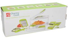 Charmy Cook All In 1 Chopper & Adjustable Slicer