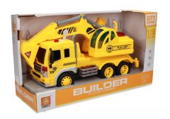 Builder Friction Building Toy Truck