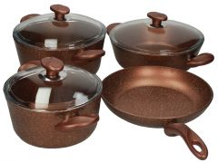 Papilla Wilma Granite Copper Cookware Set