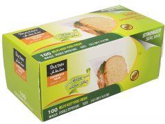 Sultan Double Zipper 100 Sandwich Bag