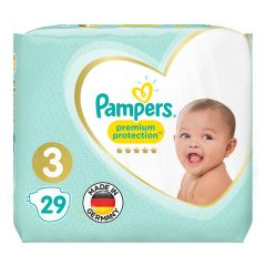 Pampers Size No. 4 Premium Protection Diapers 6-10 Kg