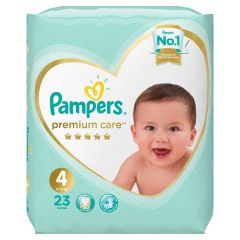 Pampers Size No. 4 Premium Care Diapers 9-14 Kg