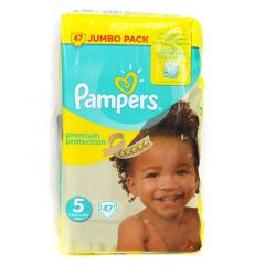 Pampers Size No. 5 Premium Care Diapers Jumbo Pack