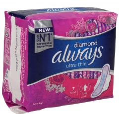 Always Diamond Ultra Thin Long Sanitary Pads