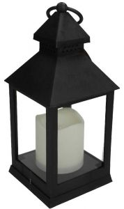 Day Lantern With Led Candle