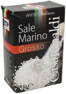 Casa Rinaldi Coarse Italian Sea Salt