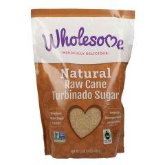 Wholesome Natural Raw Cane Turbinado Unrefined Sugar