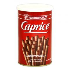 Caprice Wafer Roll With Hazelnut & Chocolate