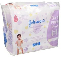 Johnsons Baby Ultimate Clean Wipes