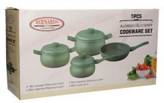 Hotsun Granite Belly Shape Cookware
