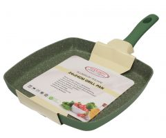 Hotsun Granite Green Grill Pan