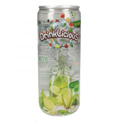 Drinklicious Mojito Sugar Free Lime And Mint Sparkling Water