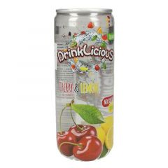 Drinklicious Sugar Free Cherry And Lemon Sparkling Water