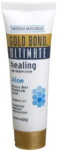 Gold Bond Travel Size Ultimate Healing Aloe Skin Therapy Cream