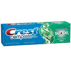 Crest Complete Whitening Scope Travel Size Toothpaste