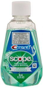 Crest Classic Scope Travel Size Mouthwash