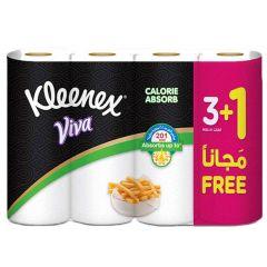 Kleenex Viva Calorie Absorb Household Tissue 55 Sheets