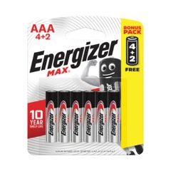 Energizer Max 3A Alkaline Battery