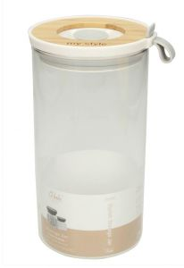 T&J Storage Jar With Bamboo Lid Large Size
