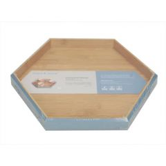 Tessie & Jessie Hexagonal Small Serving Tray