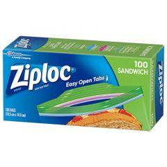 Ziploc Seal Top Sandwich Bags 100 Pieces