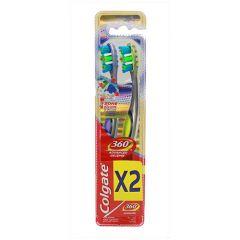 Colgate 360 Advance Toothbrush 1+1