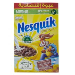 Nestle Nesquik Less Sugar Chocolate Cereals