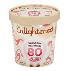 Enlightened Strawberry Cheesecake Ice Cream