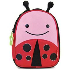 Skip Hop Zoo Lunchie Insulated Ladybug Lunch Bag