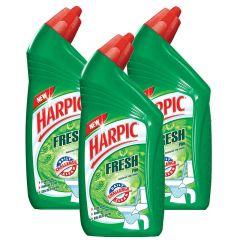 Harpic Toilet Cleaner Fresh Pine 500 Ml x 3 20% Off